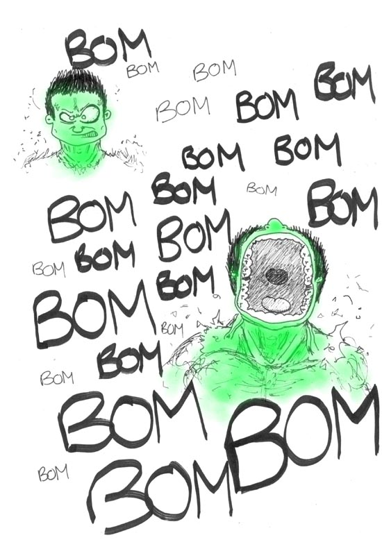 Cegetel Planete H Mr H Hulk l'incroyable Hulk Jour de paye Blog bd